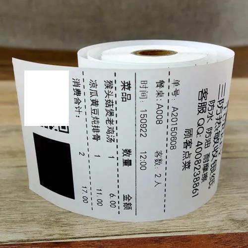 快麥打印機選擇優質的熱敏紙,延長打印頭使用壽命
