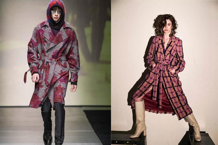 快麥時尚 | 2020年秋冬女裝大衣圖案流行趨勢