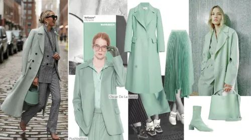 快麦时尚   21年秋冬女装大衣色彩三大流行趋势