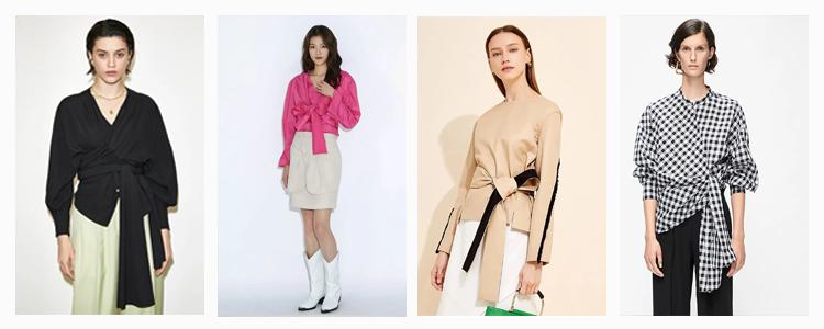 快麦设计干货分享:2021年春夏女装上衣六大流行趋势